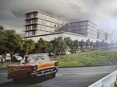 Do 20. dubna si může veřejnost v hradecké fakultní nemocnici prohlédnout architektonické návrhy na přestavbu chirurgického pavilonu. Nemocnice chce začít stavět už za dva tři roky.