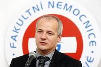 Roman Prymula, ředitel Fakultní nemocnice Hradec Králové.