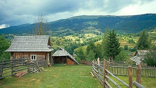 Zakarpatská Ukrajina - ilustrační foto.