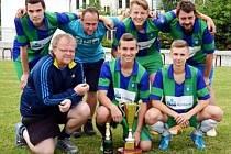 FC Blešno B, vítěz 5. ročníku pouťového fotbalového turnaje v Libranticích.