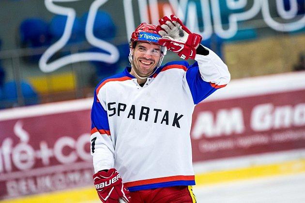 Benefice pro Petera Frühaufa, která byla jakýmsi rozloučením hokejového obránce sHradcem Králové.