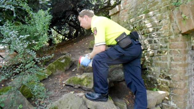 Strážníci kontrolují dětská hřiště či pískoviště, kde se mohou nacházet nebezpečné injekční stříkačky.