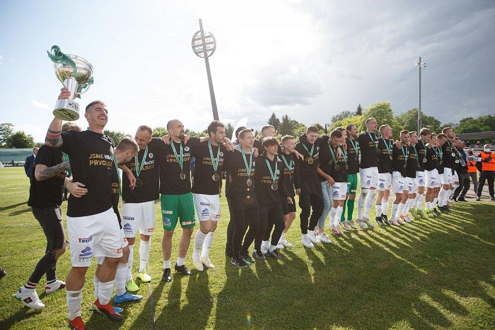 Hradecký fotbalista Daniel Vašulín pomohl týmu k postupu do první ligy