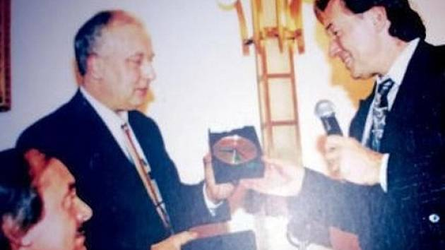Richard Kubát a Karel Gott.