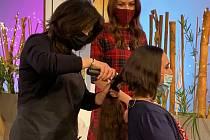 Gisela Klimešová darovala vlasy na výrobu paruky