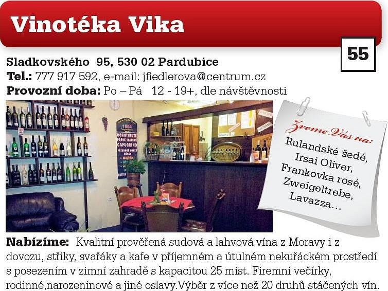 Vinotéka Vika