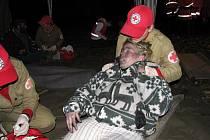 První pomoc je základem práce členů humanitrání jednotky Oblastního spolku Českého červeného kříže v Hradci Králové.