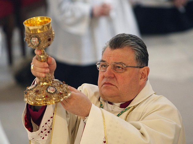 Arcibiskup Dominik Duka.