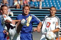 Zleva Ivo Svoboda, Peter Horkavý a Vlastimil Karal