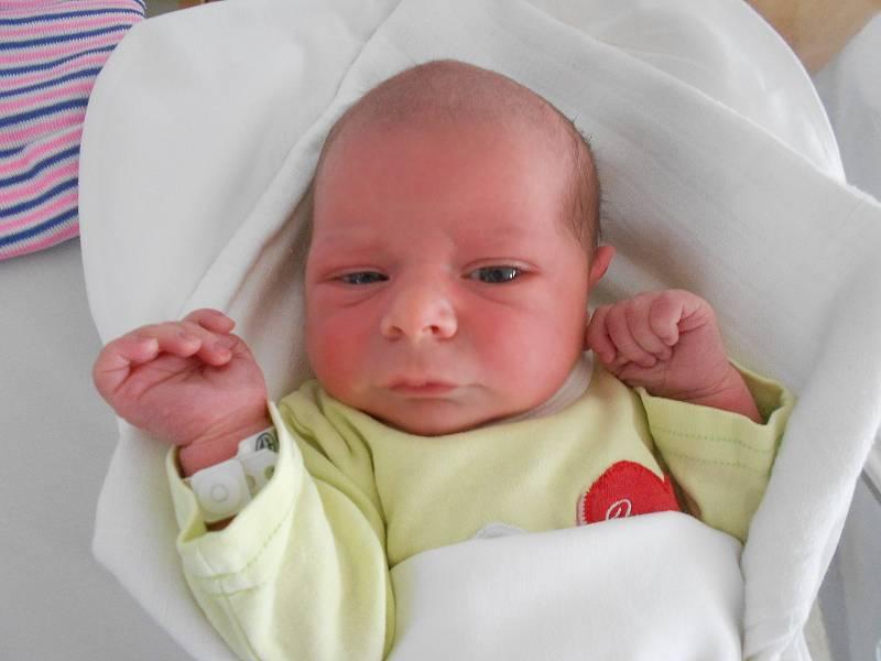 JAROSLAV JARKOVSKÝ se narodil 9. července v 16.43 hodin. Měřil 50 cm a vážil 3240 g. Velice potěšil své rodiče Lucii a Radima Jarkovské z Opočna. Tatínek byl u porodu moc statečný a celou dobu maminku podporoval.