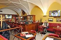 Restaurace Černý kůň v Hradci Králové.