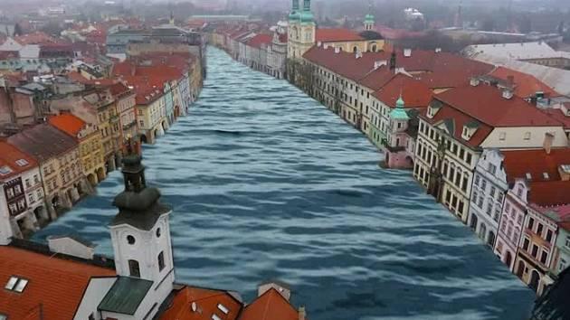 Jak bude vypadat budoucí Velké náměstí Hradce Králové po zásahu architektů?