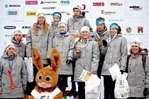 Úspěšní mladí sportovci z Královéhradeckého kraje na zimní olympiádě dětí a mládeže České republiky.