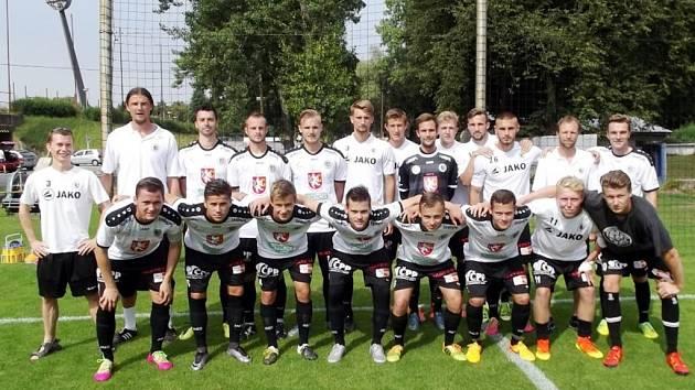 Juniorský tým fotbalistů FC Hradec Králové.
