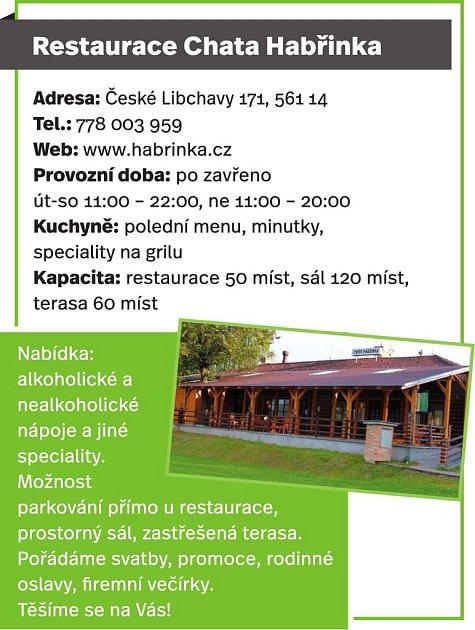 Restaurace Chata Habřinka, České Libchavy