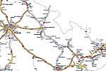 Síť dálnic a rychlostních komunikací