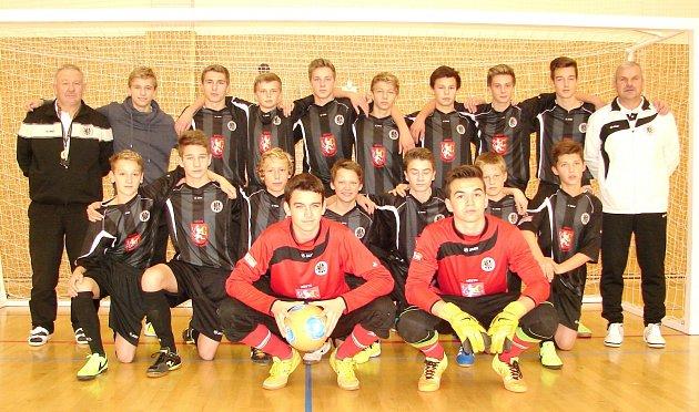 Starší žáci U15 FC Hradec Králové.