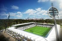 Vizualizace možné podoby stadionu