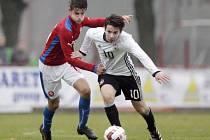 Fotbalová příprava reprezentačních výběrů kategorie U16: Česká republika - Německo.