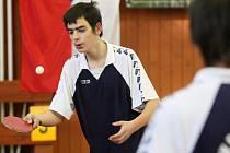 Mistrovství republiky mentálně postižených sportovců ve stolním tenisu v Hradci Králové.
