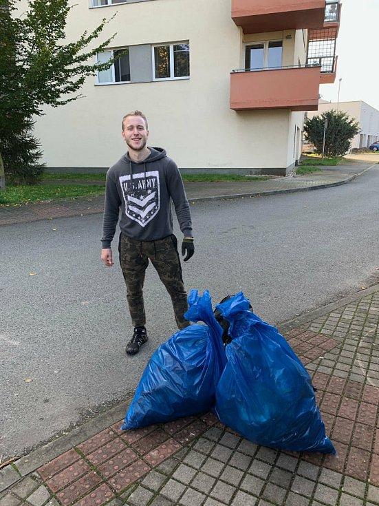 Pavel Vencl. Foto: Facebook Trash Hero Hradec Králové