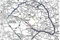 Objízdné trasy, detail