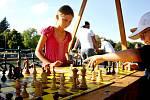 Nábřeží sportu u řeky Labe v Hradci Králové.