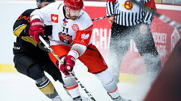 Hokejová Liga mistrů: Mountfield HK - Kärpät Oulu.