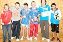 Z turnaje ve stolním tenisu Hradecká smeč.