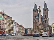 Velké náměstí v Hradci Králové.
