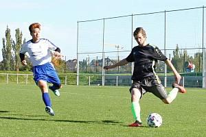 Rezerva Vrchlabí v okresním derby přehrála žacléřský Baník hladce 4:0.