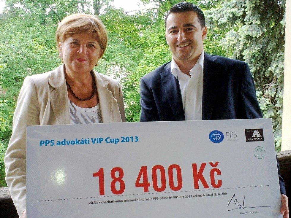 Zuzana Baudyšová a Přemysl Krupička.