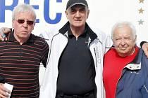 Zleva Bohuslav Novotný, Jean Claude Barták a Milan Votava.