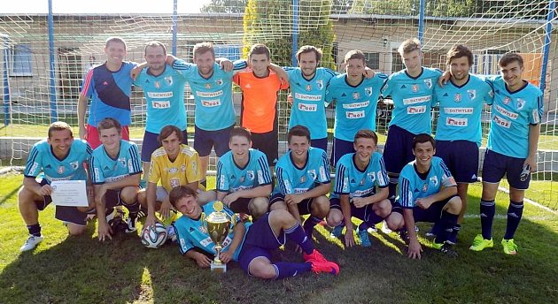 Vítěz turnaje - tým RMSK Cidlina Nový Bydžov.