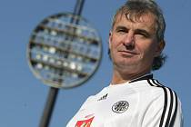 Fotbalová legenda Pavel Černý starší.