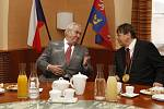 Prezident Miloš Zeman přijel na třídenní návštěvu královéhradeckého kraje.