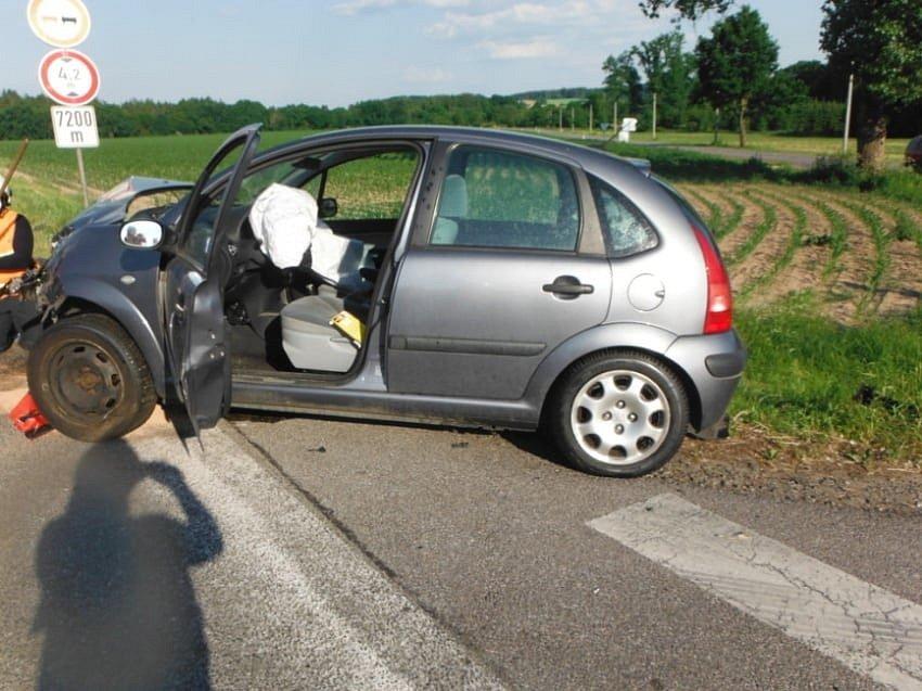 Nehoda v Dřevěnici