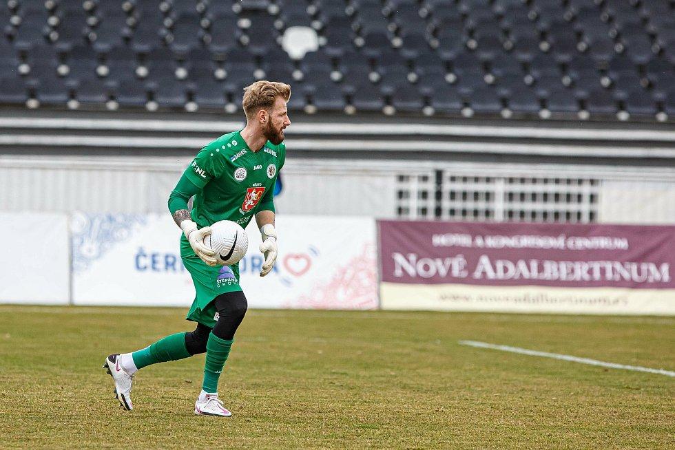 Fotbalová FORTUNA:NÁRODNÍ LIGA: FC Hradec Králové - FC Vysočina Jihlava.