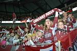 Z cesty Václava Svobody do Rigy za hokejem KHL.