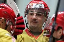 I. hokejová liga: Královští lvi Hradec Králové - SK Kadaň.