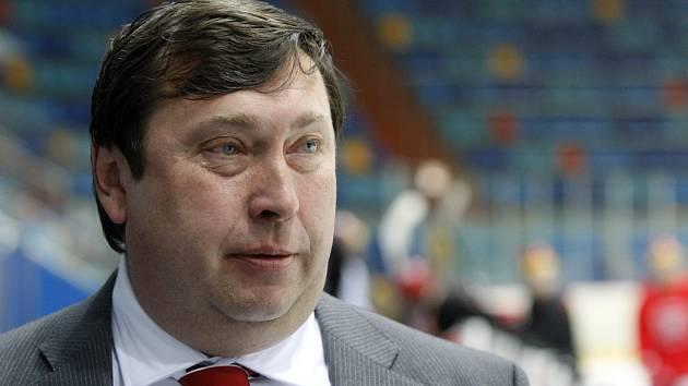 Prezident hokejového klubu Mountfield HK Miroslav Schön.