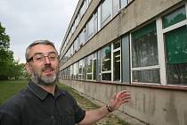 Rekonstrukce školy v Třebechovicích.