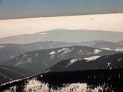 Nejvyšší vrchol České republiky - Sněžka v Krkonoších.