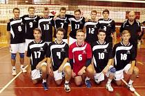 Testovací turnaj volejbalových juniorů v areálu královéhradecké Slavie.