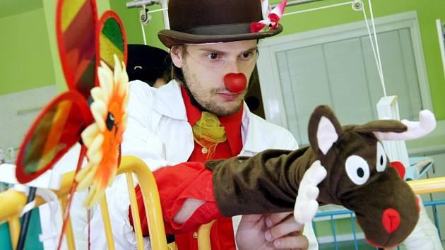 Zdravotní klaun. Ilustrační fotografie.