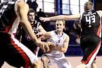 Basketbalová I. liga mužů - nadstavba A1: Kara Trutnov – Sokol Hradec Králové 2 Pražské Předměstí.