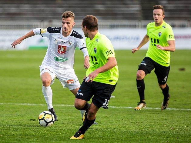 Fotbalová Fortuna národní liga: FC Hradec Králové - MFK Vítkovice.