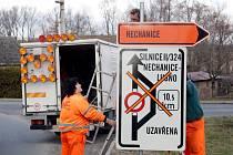 Komplikovaná dopravní situace mezi Nechanicemi a Lubnem.