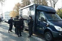 Pátrací akce hradecké policie.