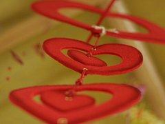 Svátek svatého Valentýna. Ilustrační foto.